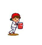 動く!野球チームと応援団9(個別スタンプ:15)