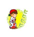 動く!野球チームと応援団9(個別スタンプ:16)