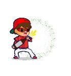 動く!野球チームと応援団9(個別スタンプ:22)