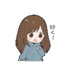 ぱーかーポニーテール女子(個別スタンプ:05)