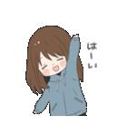 ぱーかーポニーテール女子(個別スタンプ:13)