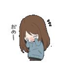 ぱーかーポニーテール女子(個別スタンプ:14)
