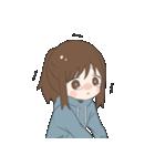 ぱーかーポニーテール女子(個別スタンプ:19)