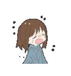 ぱーかーポニーテール女子(個別スタンプ:20)