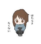 ぱーかーポニーテール女子(個別スタンプ:23)