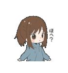 ぱーかーポニーテール女子(個別スタンプ:29)