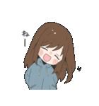 ぱーかーポニーテール女子(個別スタンプ:30)