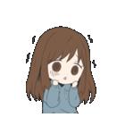 ぱーかーポニーテール女子(個別スタンプ:32)