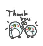 英語の幸せペンギンさん2(個別スタンプ:01)