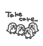英語の幸せペンギンさん2(個別スタンプ:08)