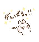 ゆるシンプル〜出っ歯うさぎ〜(個別スタンプ:30)