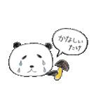 パンダのダジャレでごあいさつ(個別スタンプ:14)