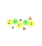 手書き文字のゆるスタンプ(基本002)(個別スタンプ:02)