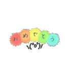 手書き文字のゆるスタンプ(基本002)(個別スタンプ:05)