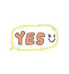 手書き文字のゆるスタンプ(基本002)(個別スタンプ:28)