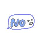 手書き文字のゆるスタンプ(基本002)(個別スタンプ:29)