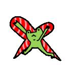 カエル君のクリスマス(個別スタンプ:5)