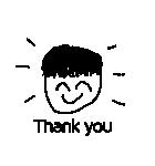 ほんの ありがとう(個別スタンプ:03)