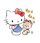ハローキティ withタイニーチャム(個別スタンプ:10)