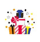 お洒落なお誕生日スタンプ(個別スタンプ:35)
