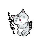 町田尚子の猫スタンプ ゆきちゃん 京都弁(個別スタンプ:01)