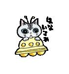 町田尚子の猫スタンプ ゆきちゃん 京都弁(個別スタンプ:02)