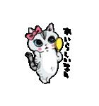 町田尚子の猫スタンプ ゆきちゃん 京都弁(個別スタンプ:20)