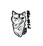 町田尚子の猫スタンプ ゆきちゃん 京都弁(個別スタンプ:28)