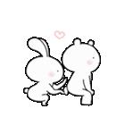 ゆる×ラブ♡うさっくま+1(個別スタンプ:04)