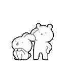 ゆる×ラブ♡うさっくま+1(個別スタンプ:16)
