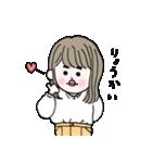愛しのシャイガール(個別スタンプ:03)