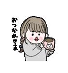 愛しのシャイガール(個別スタンプ:07)