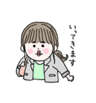 愛しのシャイガール(個別スタンプ:09)