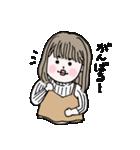 愛しのシャイガール(個別スタンプ:11)