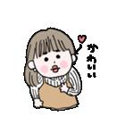 愛しのシャイガール(個別スタンプ:27)