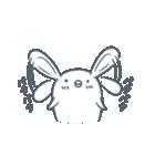 よくつかう ぶさいくウサギ(個別スタンプ:02)