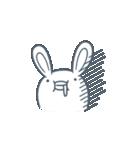 よくつかう ぶさいくウサギ(個別スタンプ:09)