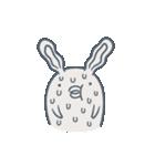 よくつかう ぶさいくウサギ(個別スタンプ:10)