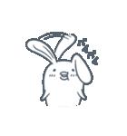よくつかう ぶさいくウサギ(個別スタンプ:14)