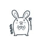 よくつかう ぶさいくウサギ(個別スタンプ:15)