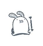 よくつかう ぶさいくウサギ(個別スタンプ:17)