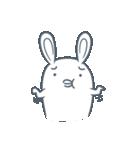 よくつかう ぶさいくウサギ(個別スタンプ:18)