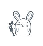 よくつかう ぶさいくウサギ(個別スタンプ:19)