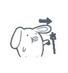 よくつかう ぶさいくウサギ(個別スタンプ:24)