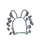 よくつかう ぶさいくウサギ(個別スタンプ:26)