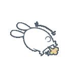 よくつかう ぶさいくウサギ(個別スタンプ:35)