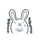 よくつかう ぶさいくウサギ(個別スタンプ:37)