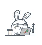 よくつかう ぶさいくウサギ(個別スタンプ:39)