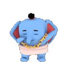 Scary but cute baby elephant(個別スタンプ:03)