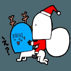 コトリとオマメのクリスマス